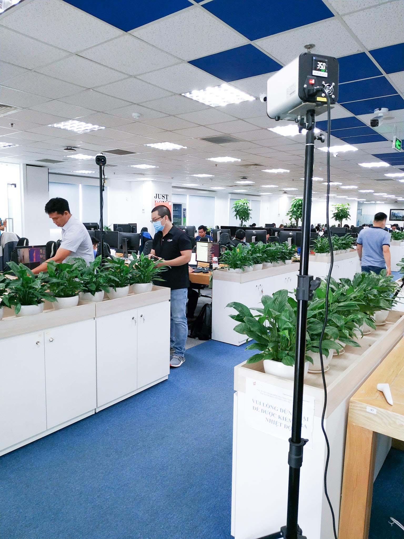 Giải pháp camera cảm biến đang được triển khai tại tập đoàn công nghệ cao