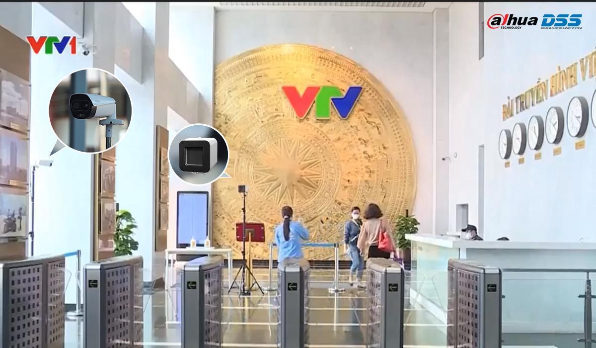Camera thân nhiệt tại VTV