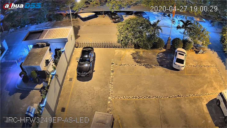 Hình ảnh IPC-HFW3249EP-AS-LED lúc 19h00
