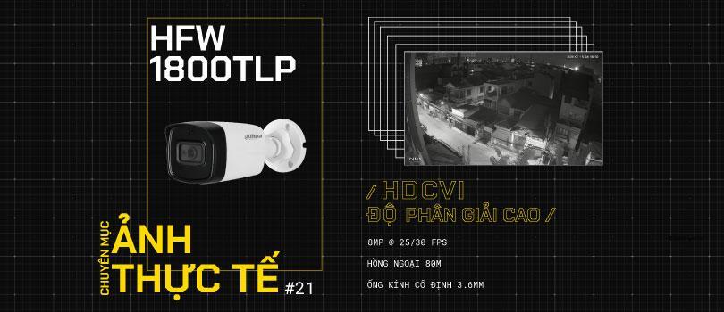 Hình ảnh camera HFW1800TLP